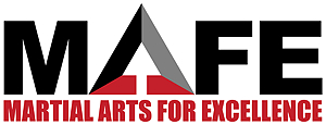 Logo for MAFE-Martial Arts For Excellence